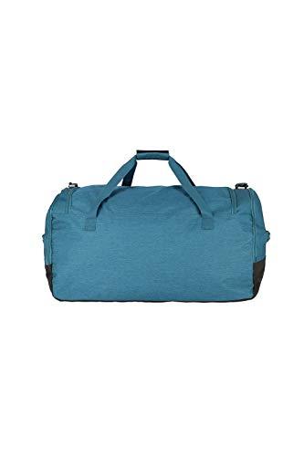 travelite große Reisetasche Größe XL, Gepäck Serie KICK OFF: Praktische Reisetasche für Urlaub und Sport, 006916-22, 70 cm, 120 Liter, petrol (türkis) - 3