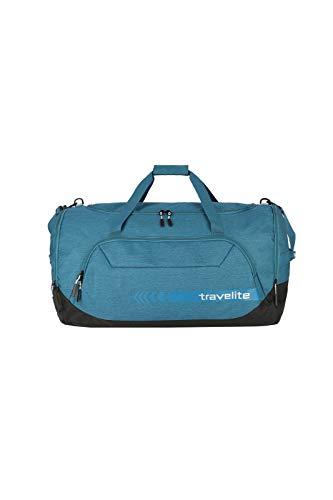 travelite große Reisetasche Größe XL, Gepäck Serie KICK OFF: Praktische Reisetasche für Urlaub und Sport, 006916-22, 70 cm, 120 Liter, petrol (türkis) - 1