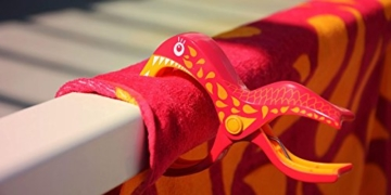 Tuuli Beach Towel Clips PREMIUM DESIGN - Hochwertige Strandtuch Klammer befestigen Handtuch Strandtasche Strandkleid Sonnenbrillen Strandmuschel an Sonnenliege Ideal für Windsurf Segeln Wakeboard Sonnenurlaub - 5