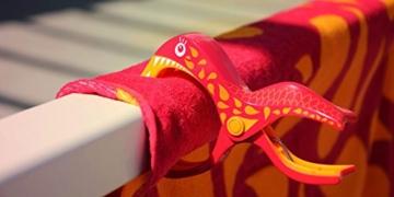 Tuuli Beach Towel Clips PREMIUM DESIGN - Hochwertige Strandtuch Klammer befestigen Handtuch Strandtasche Strandkleid Sonnenbrillen Strandmuschel an Sonnenliege Ideal für Windsurf Segeln Wakeboard Sonnenurlaub - 7