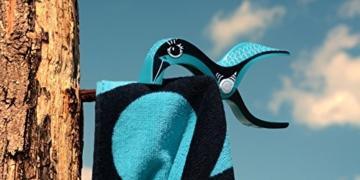 Tuuli Beach Towel Clips PREMIUM DESIGN - Hochwertige Strandtuch Klammer befestigen Handtuch Strandtasche Strandkleid Sonnenbrillen Strandmuschel an Sonnenliege Ideal für Windsurf Segeln Wakeboard Sonnenurlaub - 8
