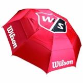 WILSON Herren Tour Umbrella Golfschirme, RED, One Size - 1