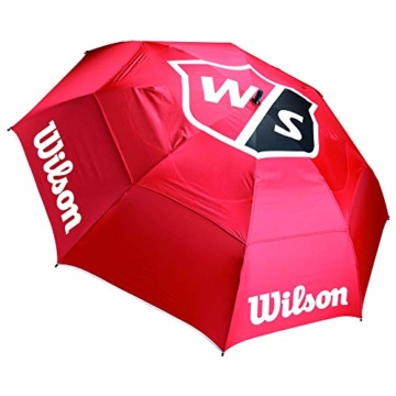 WILSON Herren Tour Umbrella Golfschirme, RED, One Size - 1