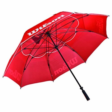 WILSON Herren Tour Umbrella Golfschirme, RED, One Size - 2