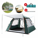 Woniu Personen Zelt, Camping-Zelt mit Wind-Anti-UV Hardy Hohe Temperaturbeständigkeit für Camping-Reisen Strand 2-4 Personen - 1