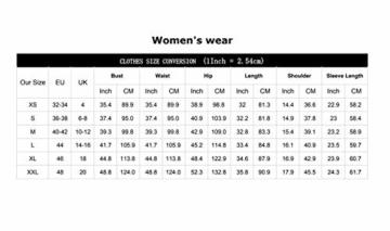YOINS Damen Kleider Tshirt Kleid Sommerkleid für Damen Rundhals Brautkleid Langarm Minikleid Kleid Langes Shirt Lose Tunika mit Bowknot Ärmeln - 5