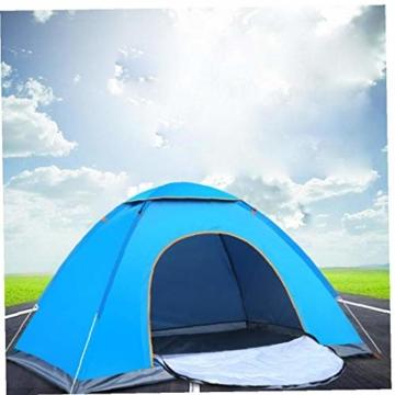 200 * 140 * 105 im Freien Wasserdichten Wandern Camping-Zelt Anti-UV Tragbarer Tourist-Zelt Ultra Faltzelt Pop Up Automatische Open Sun ShadeTent für 3-4 Personen - 2