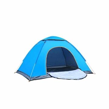 200 * 140 * 105 im Freien Wasserdichten Wandern Camping-Zelt Anti-UV Tragbarer Tourist-Zelt Ultra Faltzelt Pop Up Automatische Open Sun ShadeTent für 3-4 Personen - 1
