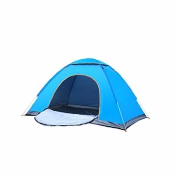 200 * 140 * 105 im Freien Wasserdichten Wandern Camping-Zelt Anti-UV Tragbarer Tourist-Zelt Ultra Faltzelt Pop Up Automatische Open Sun ShadeTent für 3-4 Personen - 9