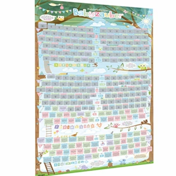 all Kids United Schwangerschaftskalender zum Rubbeln - Schwangerschafts-Tagebuch & Rubbel-Kalender - Schwangerschaftstagebuch führt Tag für Tag durch die Schwangerschaft - 1