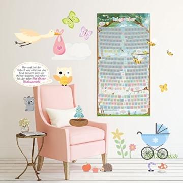 all Kids United Schwangerschaftskalender zum Rubbeln - Schwangerschafts-Tagebuch & Rubbel-Kalender - Schwangerschaftstagebuch führt Tag für Tag durch die Schwangerschaft - 6
