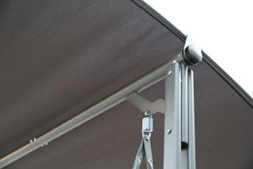 Angel Living 5869200 Hollywoodschaukel Gartenschaukel 3 Sitzer mit Sonnenschutz aus Stahl,Polyester - 10