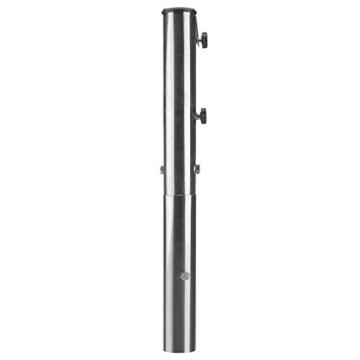 anndora Bodenhülse Edelstahl für Sonnenschirm Wäschespinne 48, 39, 34 mm Stamm - 5