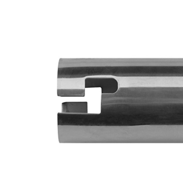anndora Bodenhülse Edelstahl für Sonnenschirm Wäschespinne 48, 39, 34 mm Stamm - 7