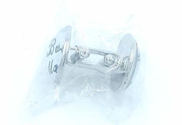 best man Runder Kopf Manschettenknöpfe, Hochzeitszubehör - 4