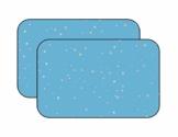 BLANCHO BEDDING EIN Paar Sommer Auto Gardinen Sonnenschutz Magnetic Type Doppelsonnenschirme, azurblaue Farbe - 1