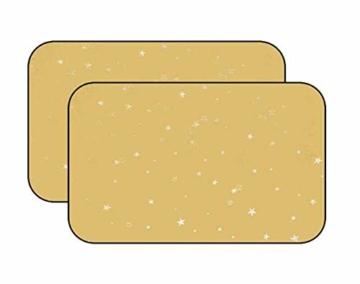 BLANCHO BEDDING EIN Paar Sommer Auto Gardinen Sonnenschutz Magnetic Type Doppelsonnenschirme, Gelb - 1
