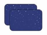 BLANCHO BEDDING EIN Paar Sommer Auto Gardinen Sonnenschutz Magnetic Type Doppelsonnenschirme, Blau - 1