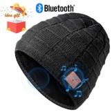 Bluetooth Mütze Beanie, Männer Geschenke, Dual-Layer Strickmütze, Bluetooth Hut, Musik Mütze mit Bluetooth 5.0, fit für Outdoor-Sport, Weihnachten Geburtstag Erntedankfest als Geschenke, Waschbar - 1
