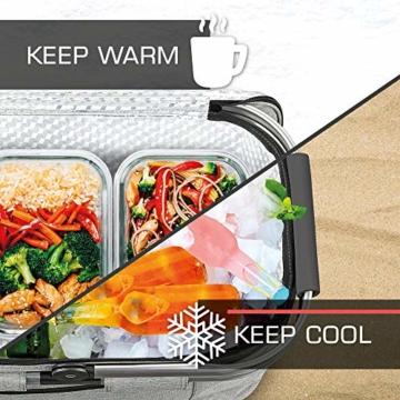 bomoe Kühltasche Picknickkorb faltbar IceBreezer K47 - Outdoor Kühlbox für unterwegs - 47x27x26 cm - 32 Liter - Auch als Picknicktasche nutzbar - Perfekt fürs Grillen oder Festival - 2
