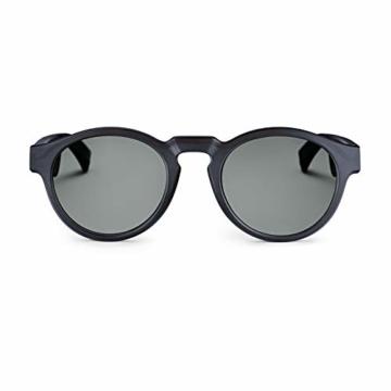 Bose Unisex- Erwachsene Frames Audio-Sonnenbrille, Rondo, schwarz, 51 x 148 x 51 - 1