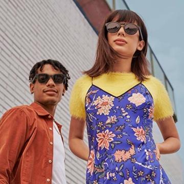 Bose Unisex- Erwachsene Frames Audio-Sonnenbrille, Rondo, schwarz, 51 x 148 x 51 - 11