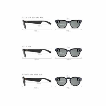 Bose Unisex- Erwachsene Frames Audio-Sonnenbrille, Rondo, schwarz, 51 x 148 x 51 - 3