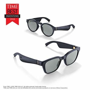 Bose Unisex- Erwachsene Frames Audio-Sonnenbrille, Rondo, schwarz, 51 x 148 x 51 - 4
