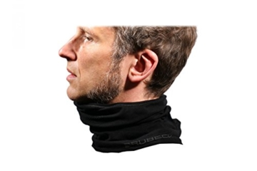 BRUBECK® X-Pro halbe klimaoaktive Gesichtsmaske Sturmhaube Sturmmaske, Größen: L/XL; Farbe: X-Pro / Black - 2