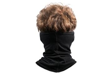 BRUBECK® X-Pro halbe klimaoaktive Gesichtsmaske Sturmhaube Sturmmaske, Größen: L/XL; Farbe: X-Pro / Black - 5