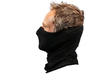 BRUBECK® X-Pro halbe klimaoaktive Gesichtsmaske Sturmhaube Sturmmaske, Größen: L/XL; Farbe: X-Pro / Black - 6