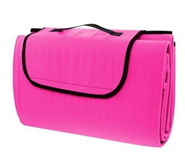CALTER Picknickdecke, Pink, 20 x 8 x 33 cm - 1