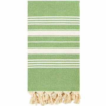 Captain & Mermaid® Mermaid's Towel Australian Surfer Strandtuch Badetuch Baumwolle (Botanical) - 1