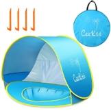 Ceekii Baby Strandzelt, Pop-up Baby Strand Zelt Portable Shade Pool UV-Schutz Sun Shelter für Kleinkinder, Strandmuschel, Baby Pool - 1