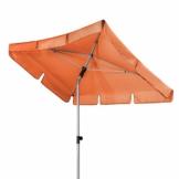 Doppler Active – Rechteckiger Sonnenschirm für Balkon und Terrasse – Knickbar – 180x120 cm – Terra Cotta - 1