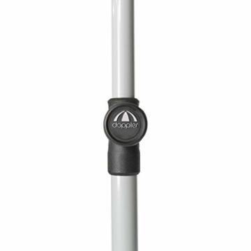 Doppler Active – Rechteckiger Sonnenschirm für Balkon und Terrasse – Knickbar – 180x120 cm – Terra Cotta - 3
