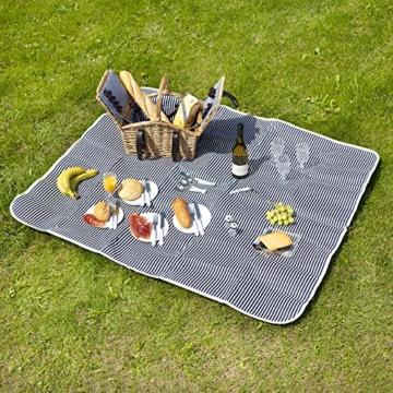 Dutch Mountains - Picknickkorb Deluxe 4-Personen 24-teilig mit Kleid – Ausverkauf - 2