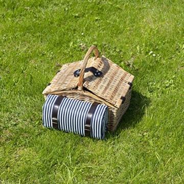 Dutch Mountains - Picknickkorb Deluxe 4-Personen 24-teilig mit Kleid – Ausverkauf - 8