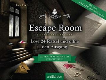Escape Room. Der erste Escape-Adventskalender: Löse 24 Rätsel und öffne den Ausgang - 5