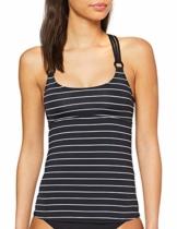ESPRIT Damen Moonrise Beach AY Tankini Bikinioberteil, Schwarz (Black 001), (Herstellergröße: 40) - 1