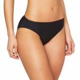 ESPRIT Damen Ocean Beach AY Classic solid Bikinihose, Schwarz (Black 001), (Herstellergröße:42) - 1
