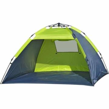 EXPLORER Strandmuschel Pop up Quick Automatik Beach Tent Sonnenschutz UV80+ 2020 - 1
