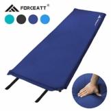 Forceatt Isomatte Selbstaufblasend - 5cm Dickes Isomatte Camping und rutschfeste Partikel Auf der Rückseite Ideal für Rucksacktouren und Camping,(Ultraleicht Kleines Packmaß). - 1
