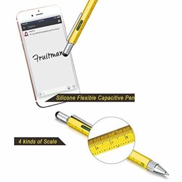 Fruitman Kugelschreiber lustige geschenk für männer geschenke weihnachten büro gadgets helfen für weihnachtsdeko werkzeug stift papa geschenkideen weihnachtsgeschenke für frauen und männer - 4