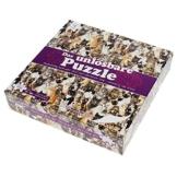 Gadget Storm Unlösbares Puzzle mit Hunde & Katzen Motiv, 500 beidseitig Bedruckte und Fast identische Teile, Knobelspiel ab 9 Jahren - 1