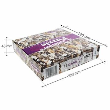 Gadget Storm Unlösbares Puzzle mit Hunde & Katzen Motiv, 500 beidseitig Bedruckte und Fast identische Teile, Knobelspiel ab 9 Jahren - 3