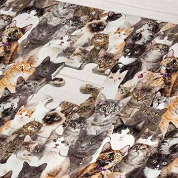 Gadget Storm Unlösbares Puzzle mit Hunde & Katzen Motiv, 500 beidseitig Bedruckte und Fast identische Teile, Knobelspiel ab 9 Jahren - 7