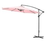 Gartenfreude Ampel/Sonnenschirm, Pastell Rosa, 300 cm - 1