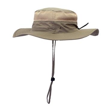GG ST Sonnenhut Herren Damen UPF 50+ Outdoor UV Schutz Mesh Summer Hut Hiking Fischerhut Strand Faltbar Safari Buschhüte Cap - 3