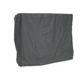 greemotion Schutzhülle für Hollywoodschaukel - Abdeckhaube Gartenschaukel Grau - Schutzhülle aus Polyester - Abdeckung mit Zugband - Wetterschutzhaube für Outdoor-Möbel - 1